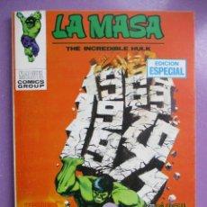 Cómics: LA MASA 16 VERTICE TACO ¡¡¡IMPECABLE ESTADO!!!!. Lote 236453200