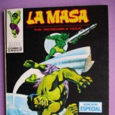 Cómics: LA MASA 17 VERTICE TACO ¡¡¡ EXCELENTE ESTADO!!!!. Lote 236453850