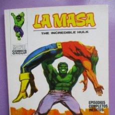Cómics: LA MASA Nº 22 VERTICE TACO ¡¡¡ IMPECABLE ESTADO!!!!. Lote 236454490