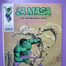 Cómics: LA MASA Nº 24 VERTICE TACO ¡¡¡ MUY BUEN ESTADO!!!!. Lote 236455225