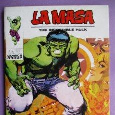 Cómics: LA MASA Nº 25 VERTICE TACO ¡¡¡ MUY BUEN ESTADO!!!!. Lote 236455570