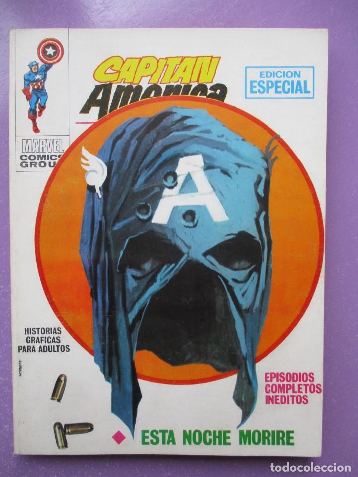 CAPITAN AMERICA Nº 4 VERTICE TACO ¡¡¡EXCELENTE ESTADO!!!! 2ª EDICION (Tebeos y Comics - Vértice - V.1)