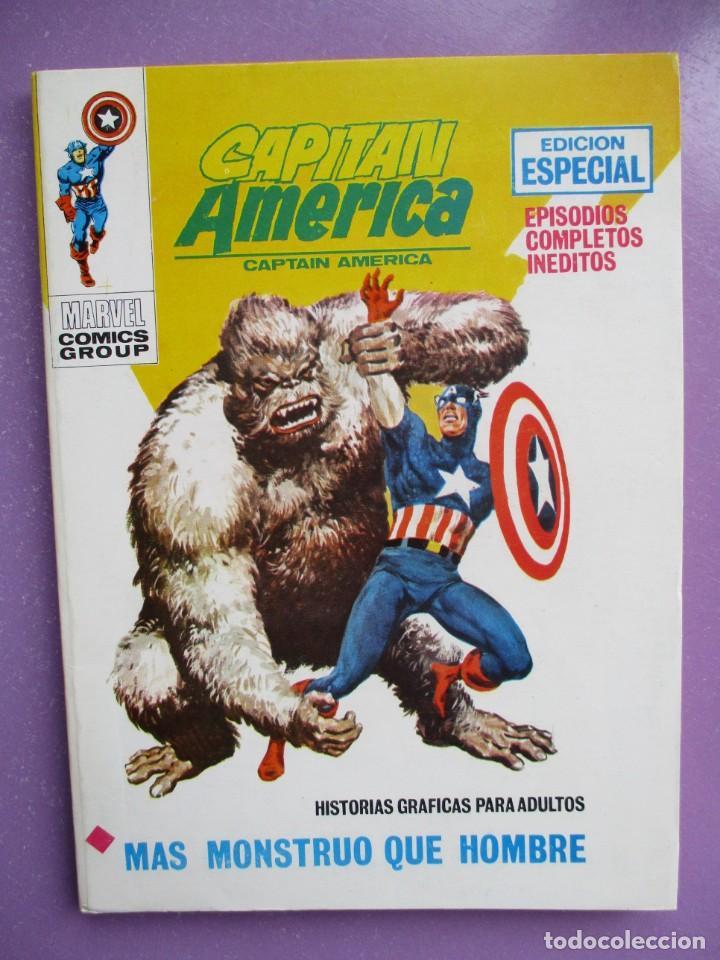 CAPITAN AMERICA Nº 17 VERTICE TACO ¡¡EXCELENTE ESTADO!!!! (Tebeos y Comics - Vértice - V.1)