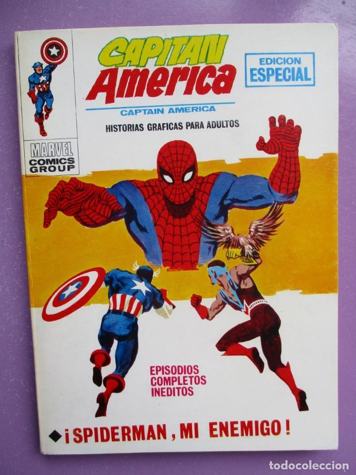 CAPITAN AMERICA Nº 18 VERTICE TACO ¡¡¡ IMPECABLE ESTADO!!!! (Tebeos y Comics - Vértice - V.1)