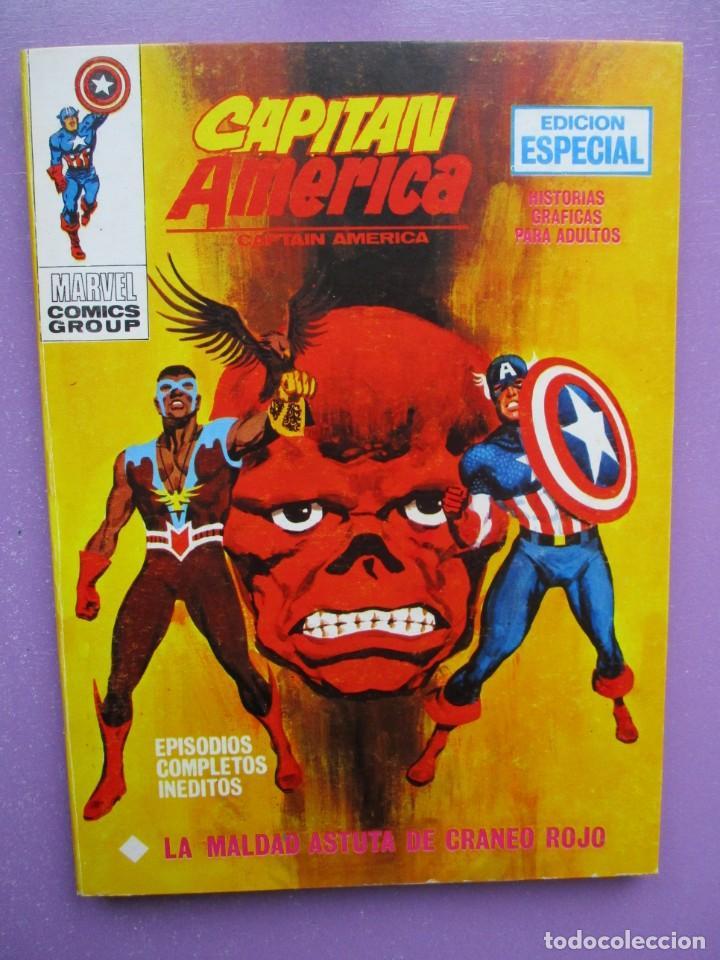 CAPITAN AMERICA Nº 21 VERTICE TACO ¡¡¡ EXCELENTE ESTADO!!!! (Tebeos y Comics - Vértice - V.1)