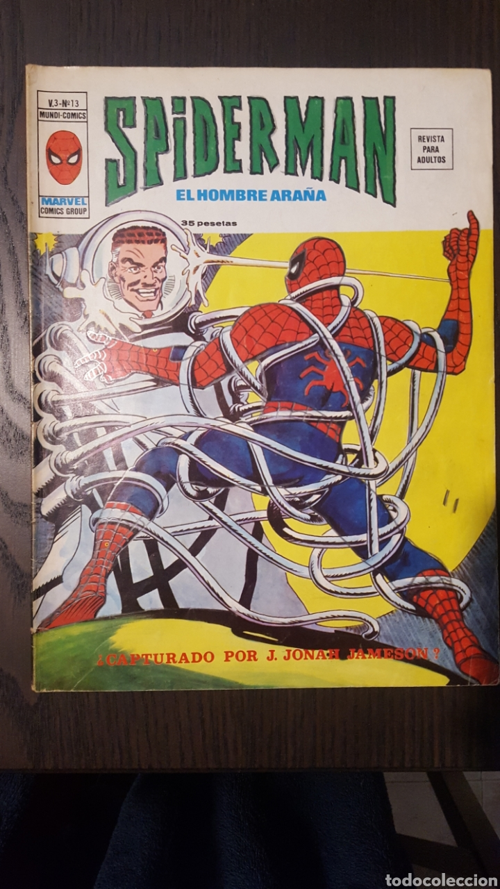 COMIC - SPIDERMAN EL HOMBRE ARAÑA - VOL. 3 NUM 13 - VERTICE - LOPEZ ESPI - MARVEL COMICS GROUP (Tebeos y Comics - Vértice - V.3)