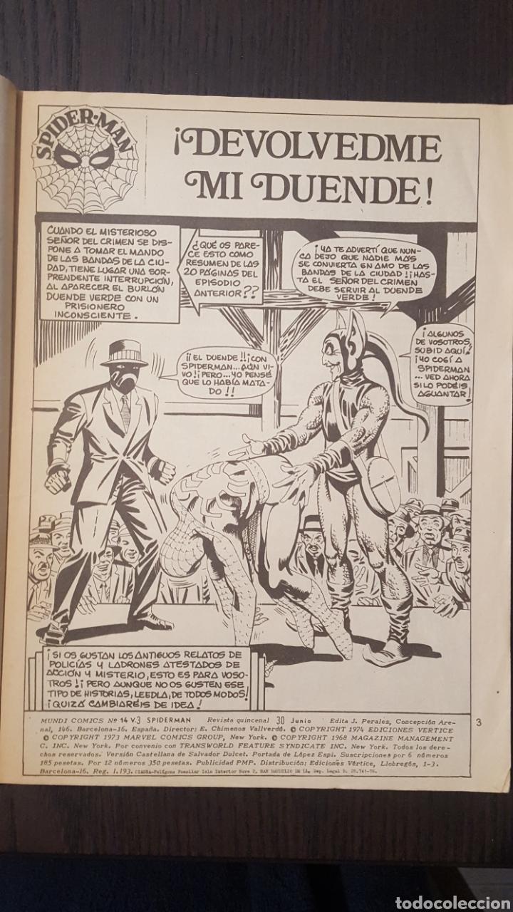 Cómics: COMIC - SPIDERMAN EL HOMBRE ARAÑA - VOL. 3 NUM 14 - VERTICE - LOPEZ ESPI - MARVEL COMICS GROUP - Foto 5 - 236547140