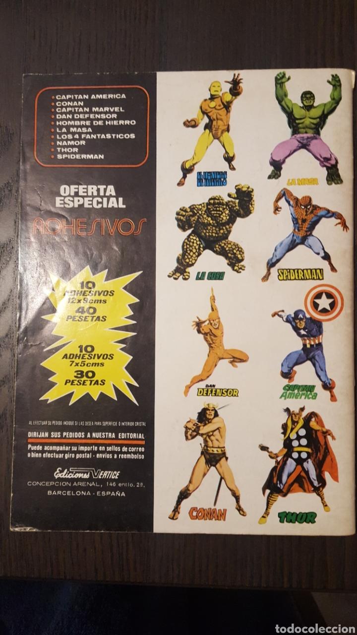 Cómics: COMIC - Super Heroes presenta El Moristasma - VOL. 2 NUM 3 - VERTICE - LOPEZ ESPI - MARVEL COMICS - Foto 2 - 236558645