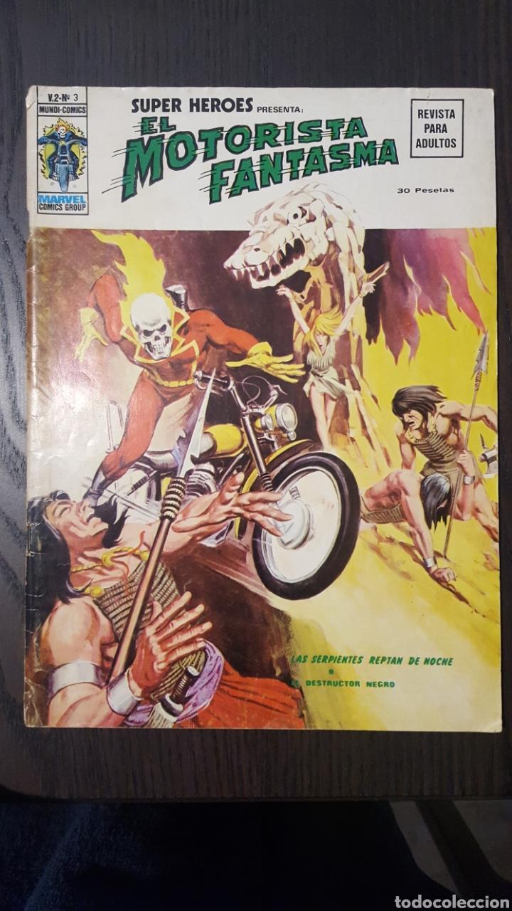 COMIC - SUPER HEROES PRESENTA EL MORISTASMA - VOL. 2 NUM 3 - VERTICE - LOPEZ ESPI - MARVEL COMICS (Tebeos y Comics - Vértice - V.2)
