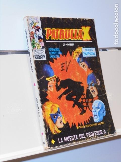PATRULLA X Nº 19 LA MUERTE DEL PROFESOR X - VERTICE TACO (Tebeos y Comics - Vértice - Otros)