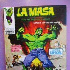 Cómics: LA MASA Nº 20 VERTICE TACO ¡¡¡ EXCELENTE ESTADO!!!!. Lote 236455025