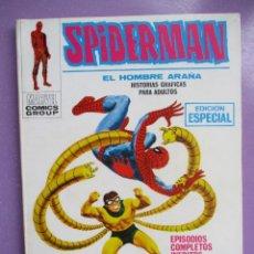 Cómics: SPIDERMAN Nº 21 VERTICE TACO ¡¡¡MUY BUEN ESTADO!!!! 1ª EDICION. Lote 236827960