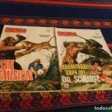 Cómics: VÉRTICE GRAPA KUNGOO NºS 1 Y 2 COMPLETA. 1966. 10 PTS. RAROS.. Lote 236862455