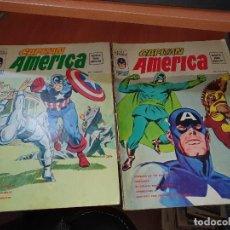 Cómics: EL CAPITAN AMERICA, V.2 N° 2 Y 3, DE VERTICE. Lote 237169700