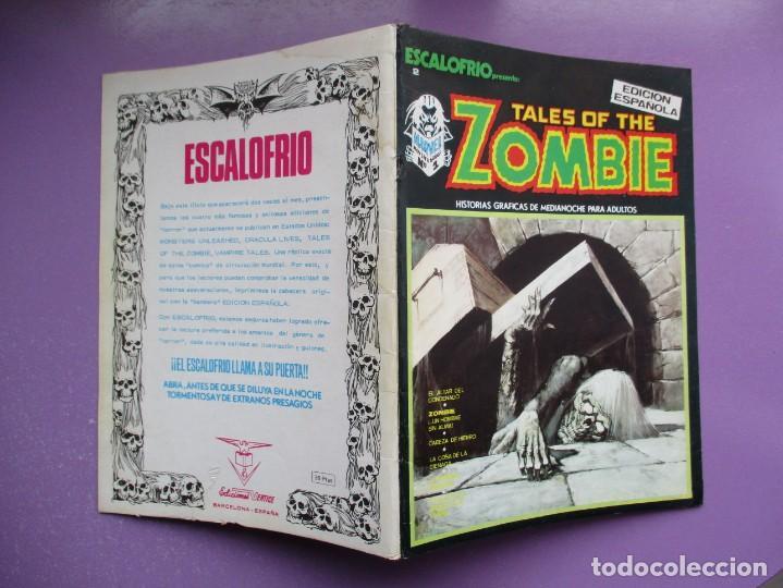 Cómics: ESCALOFRIO Nº 2 VERTICE ¡¡¡¡¡ BUEN ESTADO!!!! - Foto 3 - 237173535