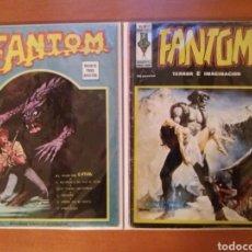 """Comics: FANTOM VOL.1 N° 38, VOL.2 N° 10 -VERTICE-. """"RESERVADO"""". Lote 237348660"""