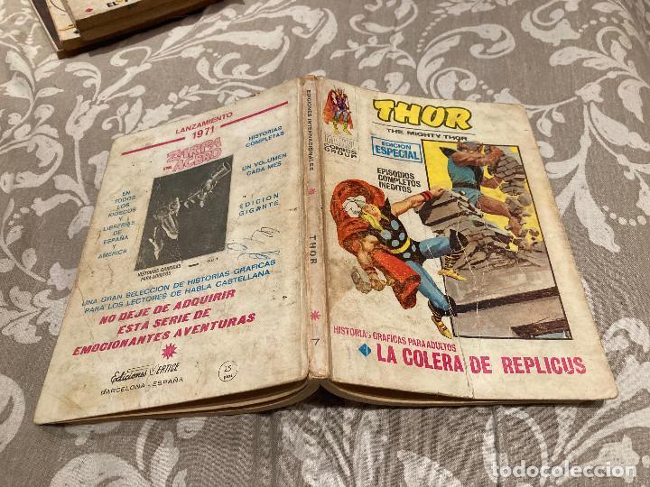 THOR Nº 7 LA COLERA DE REPLICUS - VOL 1 -VERTICE 1971 (Tebeos y Comics - Vértice - Thor)