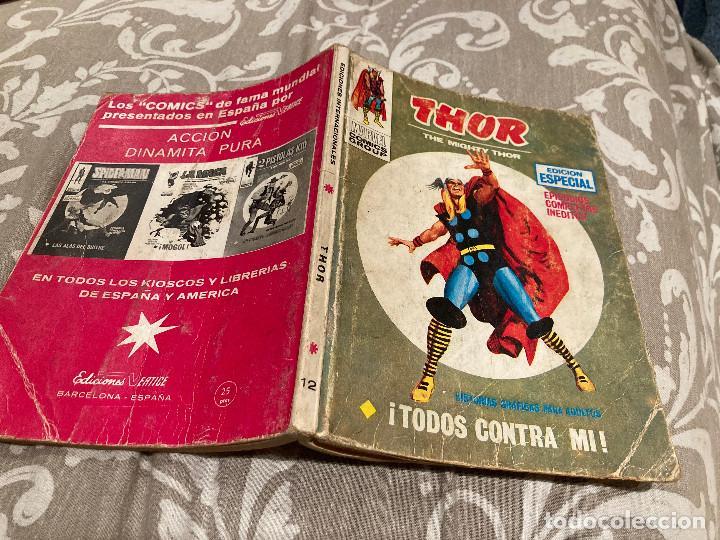 THOR Nº 12 TODOS CONTRA MI - VOL 1 -VERTICE 1971 (Tebeos y Comics - Vértice - Thor)