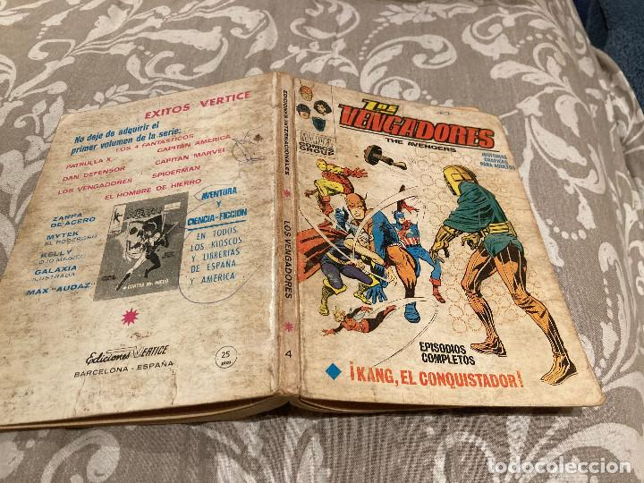 LOS VENGADORES VOL 1 Nº 4 KANG EL CONQUISTADOR - VERTICE 1970 (Tebeos y Comics - Vértice - Vengadores)