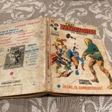 Cómics: LOS VENGADORES VOL 1 Nº 4 KANG EL CONQUISTADOR - VERTICE 1970. Lote 237362180