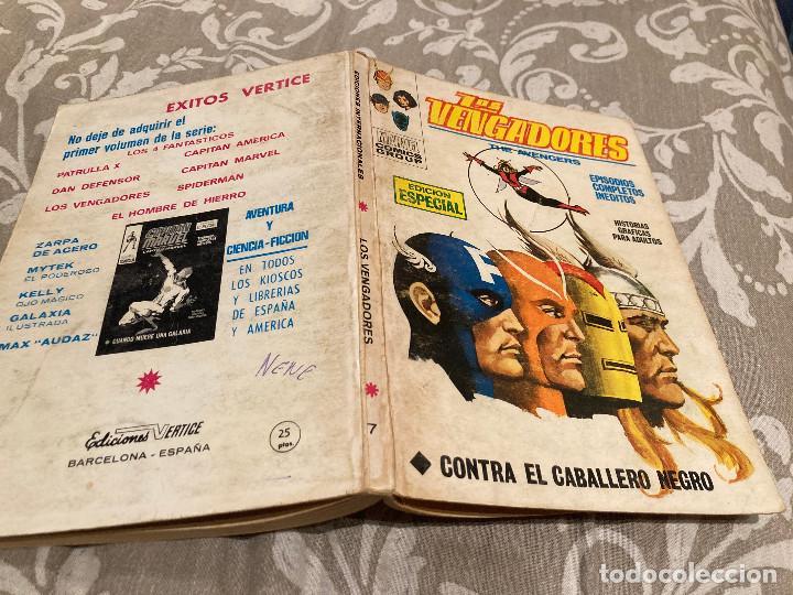 LOS VENGADORES VOL 1 Nº 7 CONTRA EL CABALLERO NEGRO - VERTICE 1970 (Tebeos y Comics - Vértice - Vengadores)