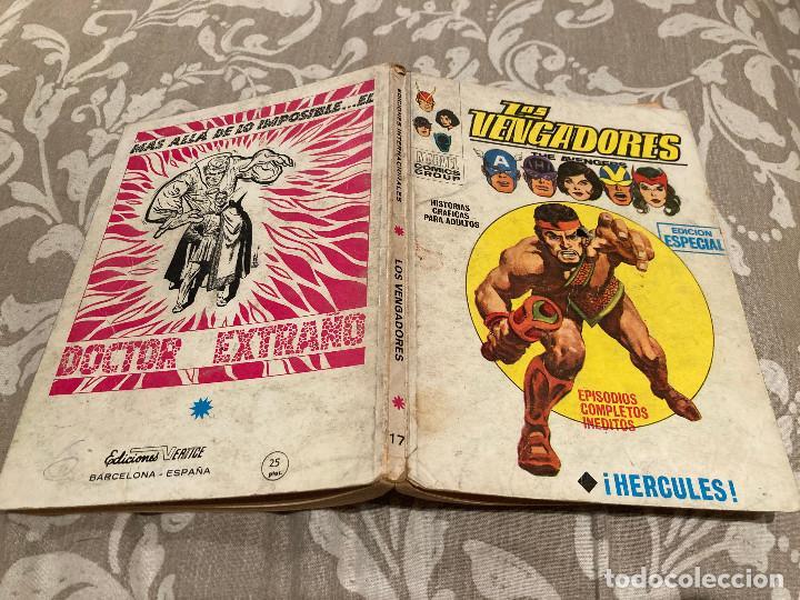 LOS VENGADORES VOL 1 Nº17 HERCULES - VERTICE 1970 (Tebeos y Comics - Vértice - Vengadores)