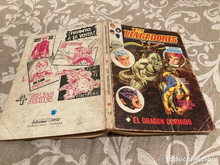 LOS VENGADORES VOL 1 Nº18 EL DRAGON DORMIDO - VERTICE 1970 (Tebeos y Comics - Vértice - Vengadores)