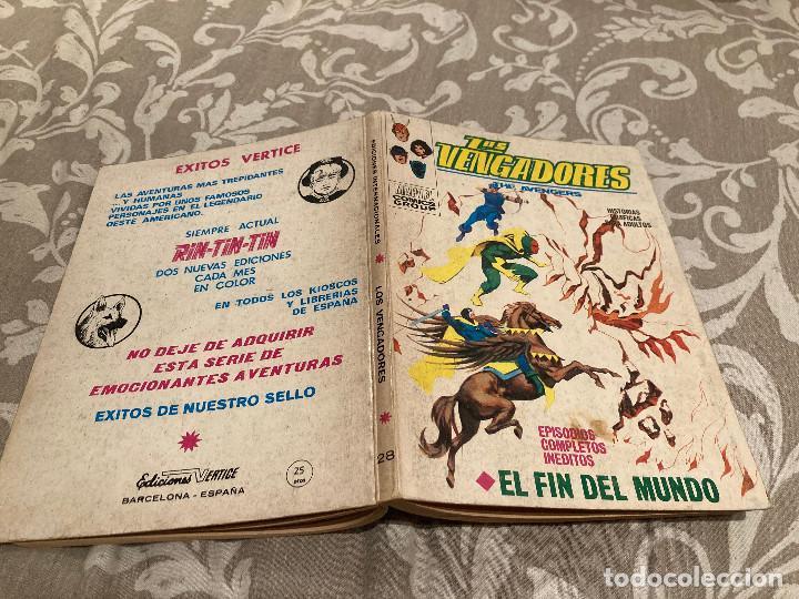 LOS VENGADORES VOL 1 Nº28 EL FIN DEL MUNDO - VERTICE 1971 (Tebeos y Comics - Vértice - Vengadores)