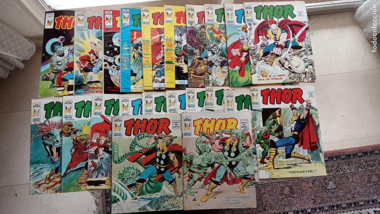 THOR V 2 VÈRTICE - LOTE NºS - 5,10,11,12,13,15,16,18,20,21,22,24,25,27,29,30,31,32,33,34,46 (Tebeos y Comics - Vértice - V.2)
