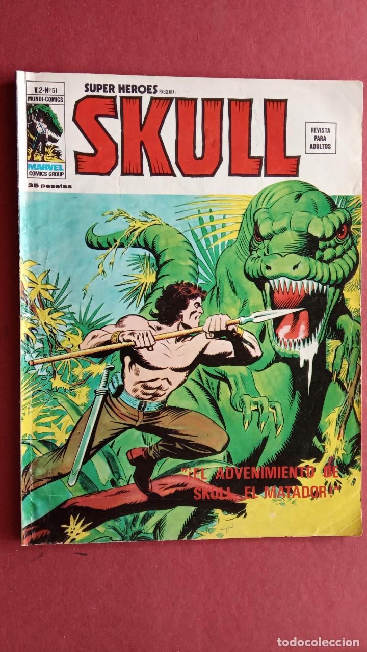 Cómics: SUPER HEROES PRESENTA: SKULL - VERTICE V 2 - NºS 51,52,54 - Foto 2 - 237404835