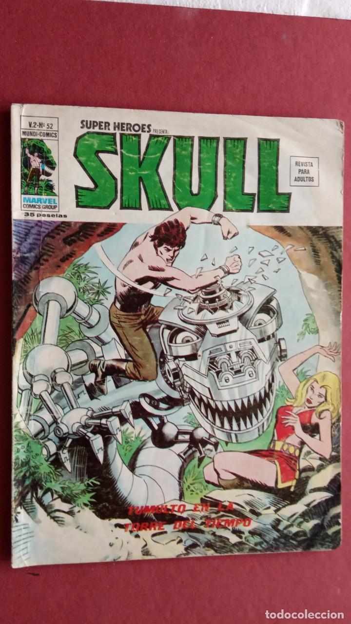 Cómics: SUPER HEROES PRESENTA: SKULL - VERTICE V 2 - NºS 51,52,54 - Foto 3 - 237404835