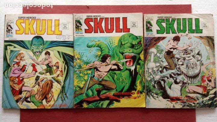 SUPER HEROES PRESENTA: SKULL - VERTICE V 2 - NºS 51,52,54 (Tebeos y Comics - Vértice - V.2)