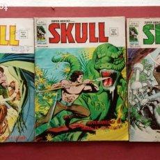 Cómics: SUPER HEROES PRESENTA: SKULL - VERTICE V 2 - NºS 51,52,54. Lote 237404835