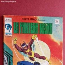 Cómics: SUPER HEROES PRESENTA : V 2 Nº 81 LA PANTERA NEGRA -- MUY NUEVO - VÉRTICE GRAPA 1977. Lote 237405180