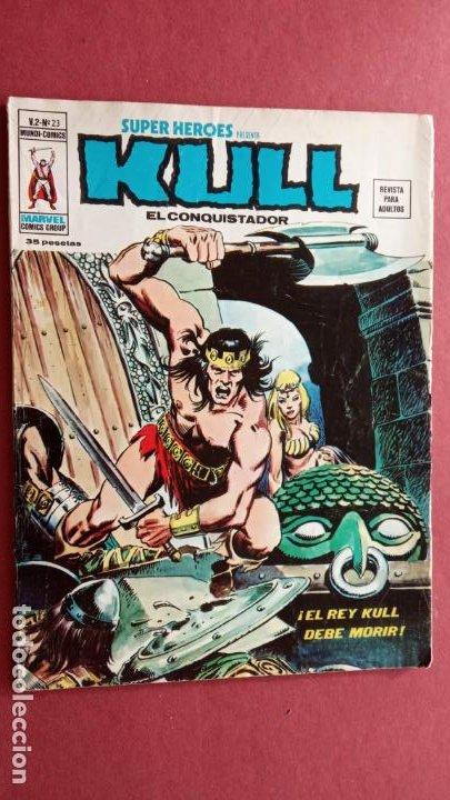 Cómics: SUPER HEROES PRESENTA : KULL - V 2 VÉRTICE NºS - 20,21,22,23 - MUY NUEVOS - Foto 2 - 237405565