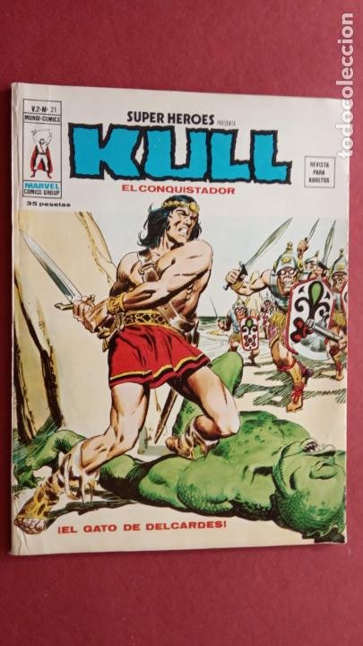 Cómics: SUPER HEROES PRESENTA : KULL - V 2 VÉRTICE NºS - 20,21,22,23 - MUY NUEVOS - Foto 3 - 237405565