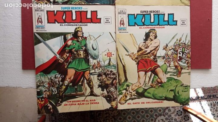 Cómics: SUPER HEROES PRESENTA : KULL - V 2 VÉRTICE NºS - 20,21,22,23 - MUY NUEVOS - Foto 8 - 237405565