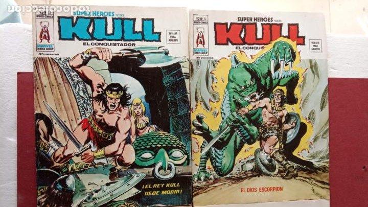Cómics: SUPER HEROES PRESENTA : KULL - V 2 VÉRTICE NºS - 20,21,22,23 - MUY NUEVOS - Foto 9 - 237405565