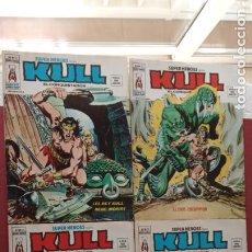 Cómics: SUPER HEROES PRESENTA : KULL - V 2 VÉRTICE NºS - 20,21,22,23 - MUY NUEVOS. Lote 237405565
