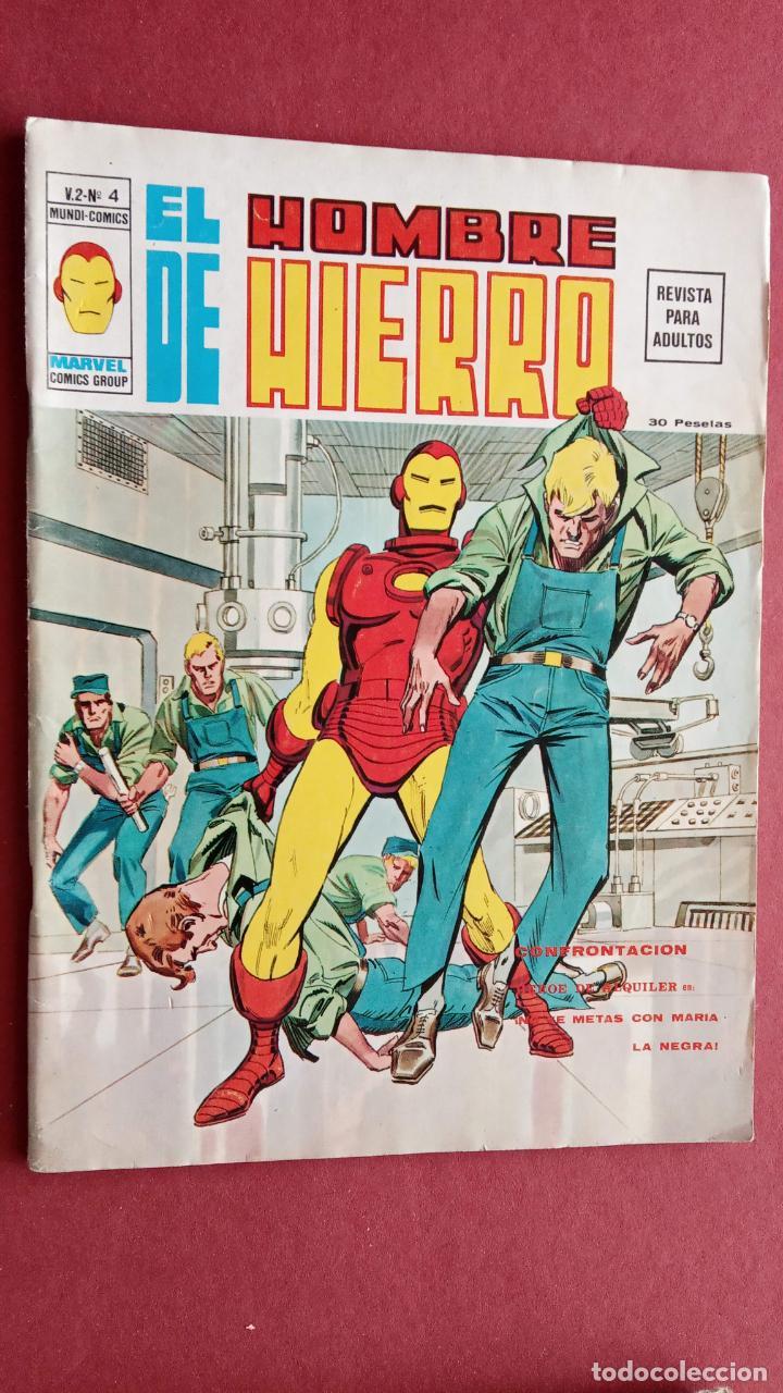 Cómics: EL HOMBRE DE HIERRO V 2 - COMPLETA - 1,2,3,4,5 - MAS EXTRA NAVIDAD Y EDICIÓN ESPECIAL -VÉRTICE 1974 - Foto 4 - 237406790