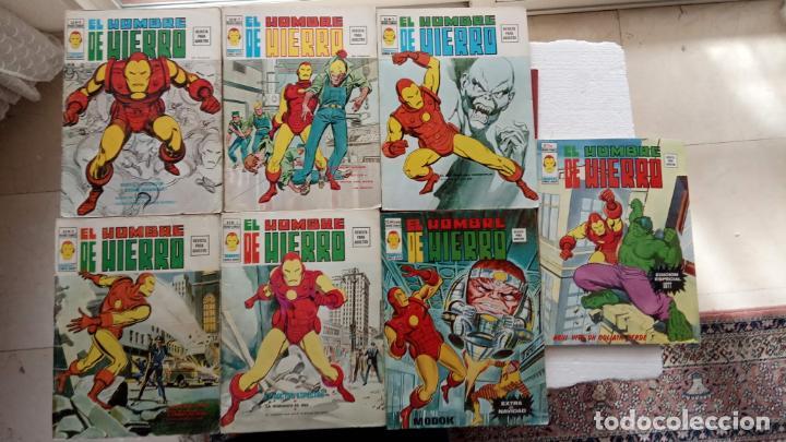 Cómics: EL HOMBRE DE HIERRO V 2 - COMPLETA - 1,2,3,4,5 - MAS EXTRA NAVIDAD Y EDICIÓN ESPECIAL -VÉRTICE 1974 - Foto 8 - 237406790