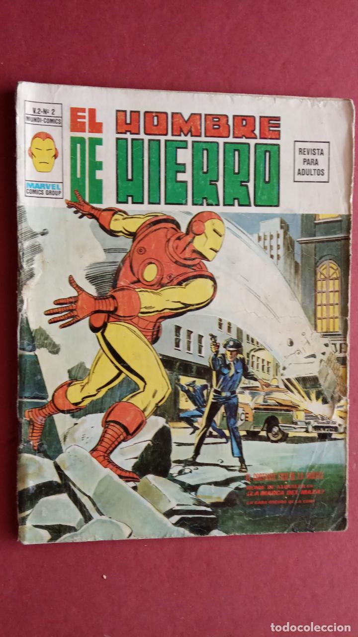 Cómics: EL HOMBRE DE HIERRO V 2 - COMPLETA - 1,2,3,4,5 - MAS EXTRA NAVIDAD Y EDICIÓN ESPECIAL -VÉRTICE 1974 - Foto 9 - 237406790