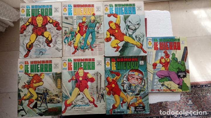 EL HOMBRE DE HIERRO V 2 - COMPLETA - 1,2,3,4,5 - MAS EXTRA NAVIDAD Y EDICIÓN ESPECIAL -VÉRTICE 1974 (Tebeos y Comics - Vértice - V.2)