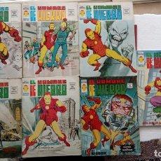 Cómics: EL HOMBRE DE HIERRO V 2 - COMPLETA - 1,2,3,4,5 - MAS EXTRA NAVIDAD Y EDICIÓN ESPECIAL -VÉRTICE 1974. Lote 237406790
