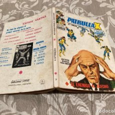 Cómics: PATRULLA X VOL 1 Nº 7 EL ENEMIGO AL ACECHO - VERTICE 1970. Lote 237455635