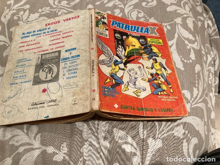 PATRULLA X VOL 1 Nº9 CONTRA DOMINIUS Y LUCIFER - VERTICE 1970 (Tebeos y Comics - Vértice - Patrulla X)