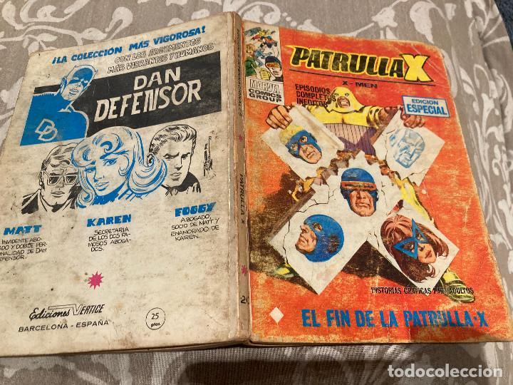 PATRULLA X VOL 1 Nº20 EL FIN DE LA PATRULLA X - VERTICE 1970 (Tebeos y Comics - Vértice - Patrulla X)