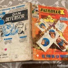 Cómics: PATRULLA X VOL 1 Nº20 EL FIN DE LA PATRULLA X - VERTICE 1970. Lote 237458765