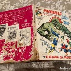 Cómics: PATRULLA X VOL 1 Nº30 EL RETORNO DEL PROFESOR-X - VERTICE 1972. Lote 237466250