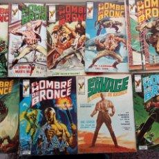 Cómics: DOC SAVAGE EL HOMBRE DE BRONCE - COMPLETA 1 AL 9 EDI. VÉRTICE 1974. Lote 237485155
